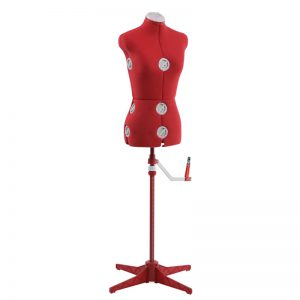 Singer Dress Form Red S/M